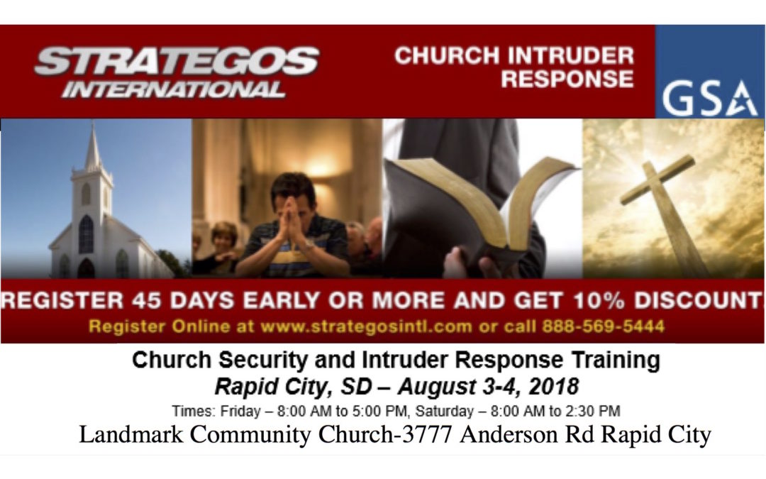 Strategos Church Security Training