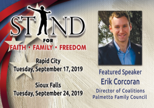 Stand Event – Sioux Falls