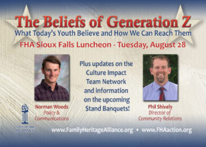 The Beliefs of Generation Z – Sioux Falls