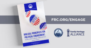 Biblical Principles for Political Engagement
