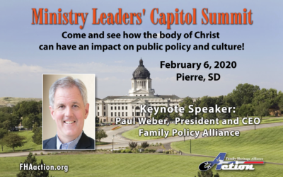 Ministry Leaders Capitol Summit