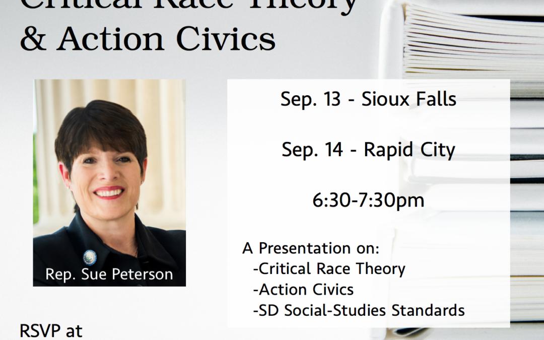 Critical Race Theory & Action Civics – Rapid City