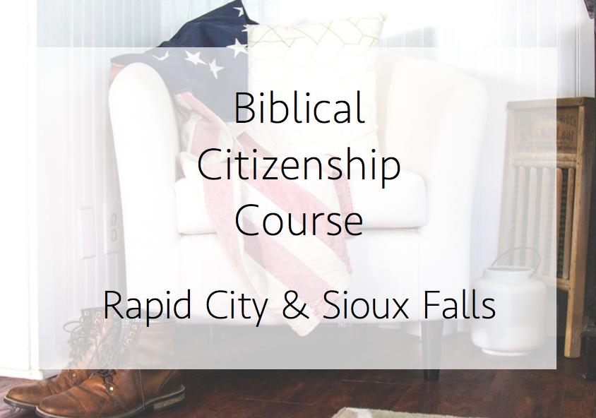 Biblical Citizenship Course 2.0